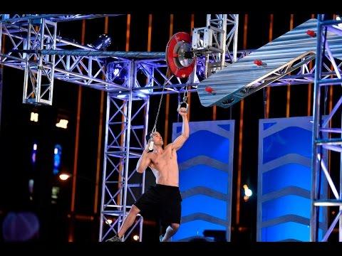 Joe Moravsky at American Ninja Warrior 2015 National Finals Stage 3