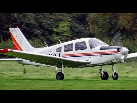 PA28 Short Field Circuits - Flying From A 533m Runway | City Airport Manchester Barton | ATC Audio