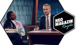 Aminata Touré zu Gast im Neo Magazin Royale mit Jan Böhmermann