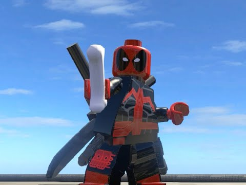 lego marvel superheroes ultimate deadpool free roam