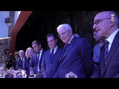 Mattarella inaugura al Quirinale il Presepe della ...