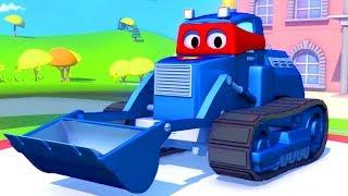 Мультик для детей - Трансформер Карл и Песочный грузовик в Автомобильном Городе