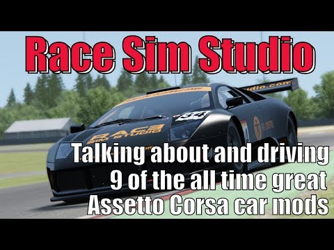 Race Sim Studio - An Overview of My Favourite Assetto Corsa Car Mod Team