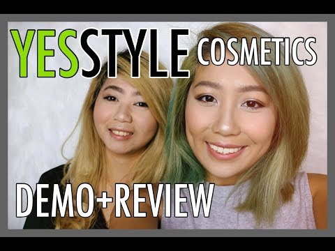 PUTTING MAKEUP ON MY SISTER! YESSTYLE HAUL/REVIEW