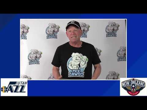 New Orleans Pelicans vs Utah Jazz 7/30/20 Free NBA Pick and Prediction NBA Betting Tips