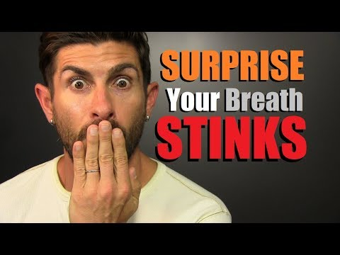 The BAD Breath Test   How To Tell When Your Breath STINKS! (Watch Before You Talk To ANYONE Else)