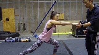 Gal Gadot Training for 'Wonder Woman 1984'