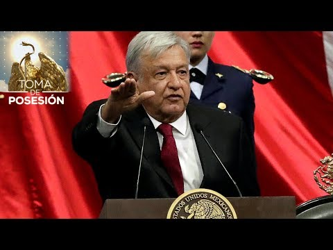 López Obrador asume la Presidencia de México (Discurso completo)