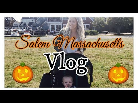 Salem Massachusetts Vlog //Summer 2017
