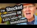 Ajijic Retired Mexico:  I am shocked on Comment  8.25% Return on Investment