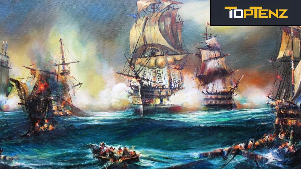 Top 10 NAVAL BATTLES That Were Game Changers