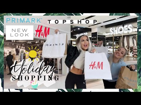 178ac13baee0c NEW IN H&M, PRIMARK, TOPSHOP, NEW LOOK + MORE! HOLIDAY SERIES EP2 –  Shopping time