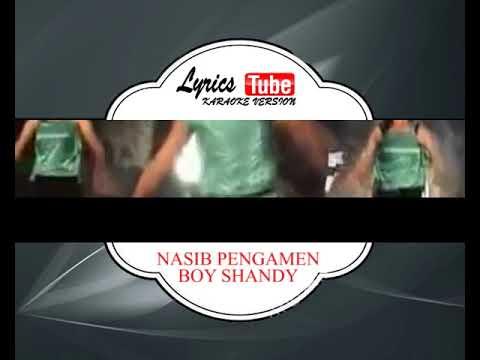 Lagu Karaoke BOY SHANDY - NASIB PENGAMEN (DANGDUT) | Official Karaoke Musik Video