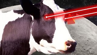 LASER MOON COW - Goat Simulator Payday DLC - Part 6 | Pungence