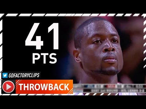 Throwback: Dwyane Wade MVP MODE Game 6 Highlights vs Hawks (2009 Playoffs) - 41 Pts, UNSTOPPABLE!