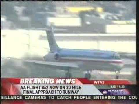 American Airlines Flight 862 Makes A Safe Emergency Landing