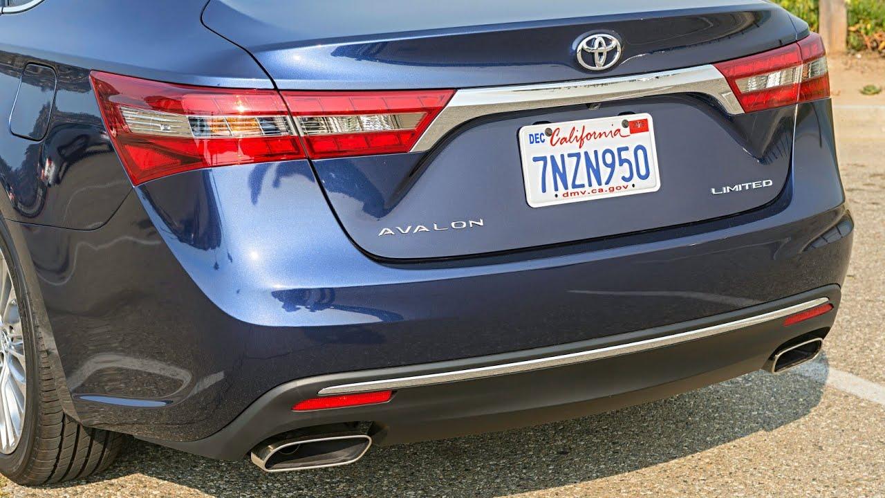 2018 Toyota Avalon Rival Of Nissan Maxima Ford Taurus Hyundai