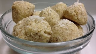 Protein Coconut Macaroons Recipe - Hasfit Healthy Macaroons - Healthy Dessert Recipes