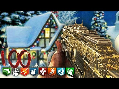 INSANE BO3 CHRISTMAS ZOMBIES EASTER EGG! - BLACK OPS 3 CUSTOM ZOMBIES GAMEPLAY!