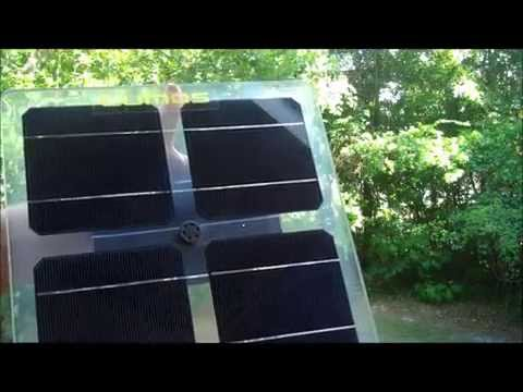 Clear Solar Panel Explanation and Examples - Bifacial Solar