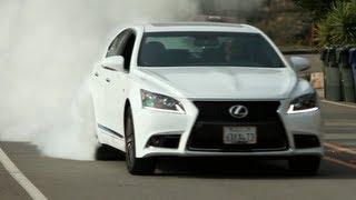 Can a big Lexus be fun?