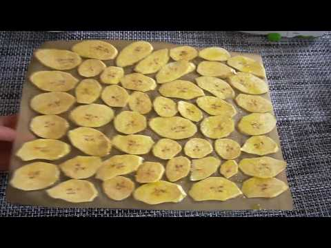 Healthy Plantain Chips Baked With Avocado Oil | Gluten Free, Dairy Free Snack