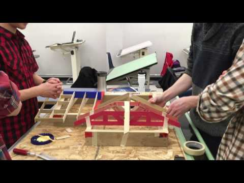 BCIT Architectural & Building Technology (Set: E) - Wood Frame Model Project