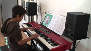 Maple Leaf Rag - Scott Joplin Piano (Simplified Version) (HD)