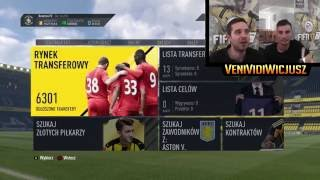 FIFA 17 już ZAROBIŁEM! RYNEK, zadania MENEDŻERA/wygraj MILIKA