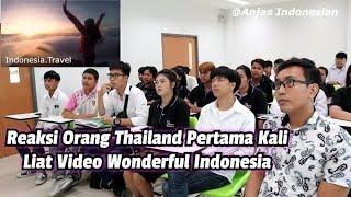 Download lagu REAKSI ORANG THAILAND PERTAMA KALI LIAT VIDEO WONDERFUL INDONESIA