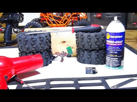 How to Waterproof an RC Receiver QUiCKLY w/ Conformal Coating (& Waterproofing Tips) | RC ADVENTURES