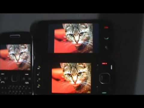 Nokia N86 Review : All about the OLED Screen