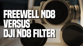 Freewell ND 8 vs DJI ND 8 Filter for Phantom 4 Pro