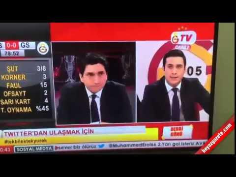 GS TV Spikeri çıldırdı   Fenerbahçe, Galatasaray, Spor Toto Süper Lig, Derbi Maçı