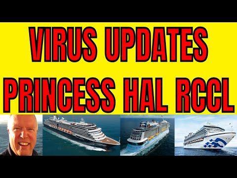 ROYAL CARIBBEAN PRINCESS CRUISES HOLLAND AMERICA VIRUS UPDATES FROM HONG KONG JAPAN CHINA USA