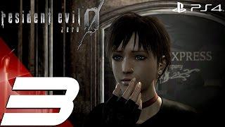 Resident Evil Zero HD Remaster (PS4) - Walkthrough Part 3 - Train Brakes & Mansion