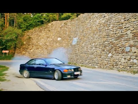 BMW E36 325i Morning Delivery (DRIFT)