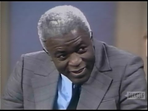 Jackie Robinson interviewed on Dick Cavett Show