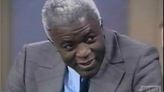 Jackie Robinson interviewed on Dick Cavett Show