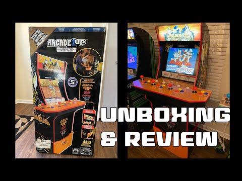 Arcade1up Golden Axe Unboxing, Assembly, and Review from SonicGT73