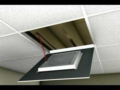 Ceilingmax Surface Mount Ceiling Grid Installation How