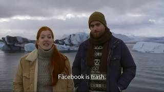 Facebook Ad - We're a toilet (parody)