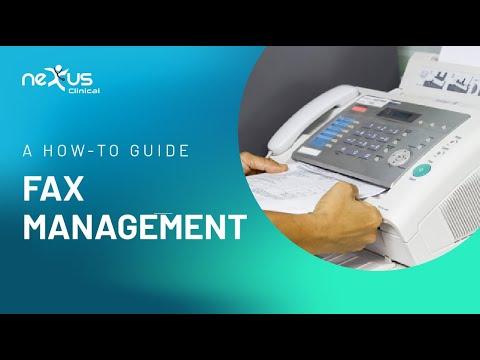 EHR   Nexus Clinical - Fax Management