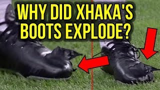 vuclip HERE'S HOW GRANIT XHAKA'S FOOTBALL BOOTS EXPLODED!
