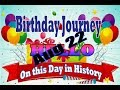 Birthday Journey August 22 New