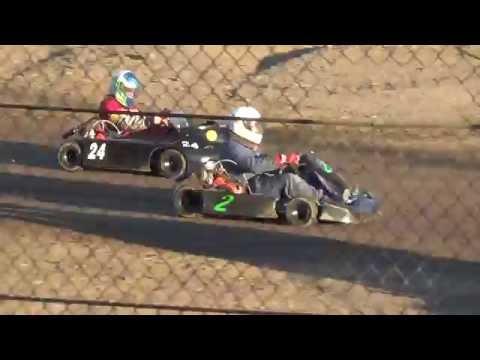Redwood Acres Raceway 6-18-16 Speedway Kart Heat Race
