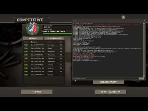 tf2 matchmaking ping command