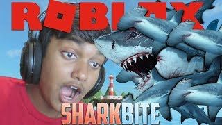 WAY TOO MANY VIRAL INFECTIONS - Roblox Sharkbite (Jaws Remake)