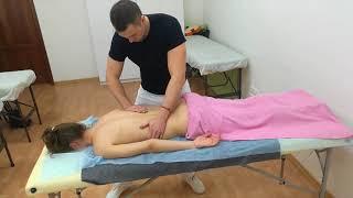 Приемы испанского массажа