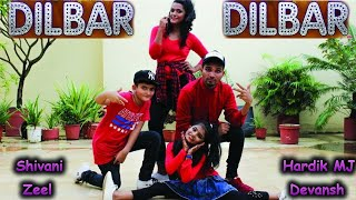 DILBAR DILBAR | DANCE VIDEO | CHOREOGRAPHY HARDIK MJ | SATYAMEVA JAYATE
